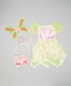 Girls who live for fun and have impeccable imaginations will be delighted with this dazzling dress-up set. An ensemble this creative adds a little whimsical flair to any playtime party.