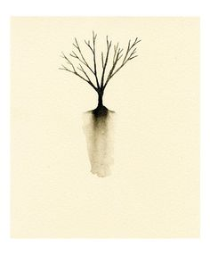 Best Watercolor Paintings Trees Products on Wanelo