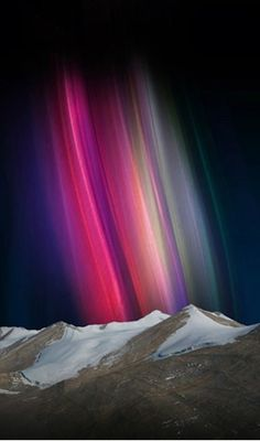 ~~Atmospheric Optics | Aurora Australis, atmospheric optics lenticular, Australia by Megan Jenkinson~~