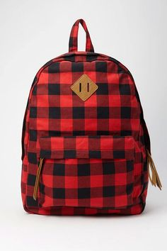 Classic Plaid Backpack, $24.90, forever21.com   - Seventeen.com