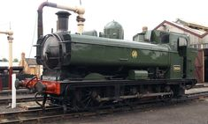 Didcot Railway Centre GWR steam locomotives engines rolling stock ...
