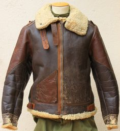 Men's Leather Jackets: How To Choose The One For You. A leather coat is a must for each guy's closet and is likewise an excellent method to express his individual design. Leather jackets never head out of styl Leather Flight Jacket, Vintage Leather Jacket, Leather Men, Leather Jackets, Bomber Jackets, Ww2 Bomber Jacket, Men's Jackets, Distressed Leather, Military Fashion