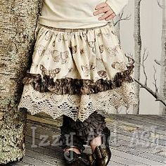 persnickety girls cream emily skirt LOVE IT!