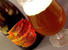 The Bruery Autumn Maple - one of my favorite beers, great for fall