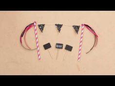 DIY Halloween - Chica Vampiro Accessoire gâteau - YouTube