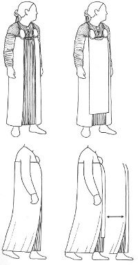 Amazing research on the Viking apron dress - check out the rest of the site for the underdress and other stuff!