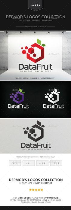 Data Fruit Logo