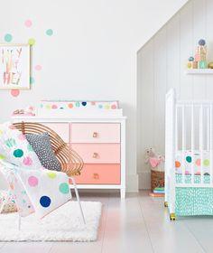 Pastel & dots nursery