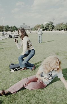 Jimmy, Robert and John Bonham (right behind) in Hiroshima, September 1971.