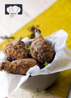 receta de pollo frito estilo americano kentucky