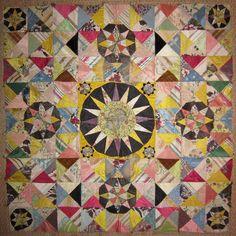 Eighteenth century patchwork fragment