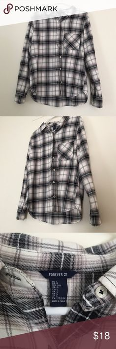 F21 Flannel Condition 10/10 Forever 21 Tops Button Down Shirts