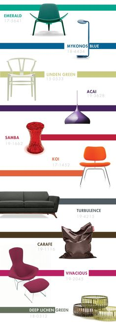 Pantone 2015 Color Trends | Found on blog.smartfurniture.com