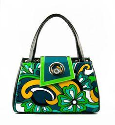 Michique - Bloom (Ocean) purse.  Want it!!  :)