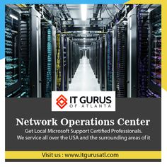 Monitored, maintained, controlled, and optimized with our With 4 different data centers. Call us now - Experts Network Operations Center, Microsoft Support, Network Monitor, Georgia, Atlanta, Florida, California, The Florida, The California