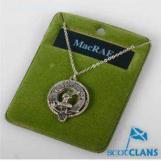 MacRae Clan Crest Pe