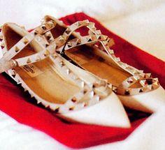 Caroline Trentini's Valentino wedding shoes <3 <3 <3