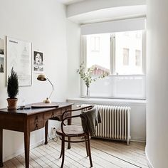 Modern Scandinavian Furniture Home Office Ideas For 2019 Male Office Decor, White Office Furniture, Office Ideas, Home Design, Home Office Design, Design Ideas, Interior Design, Office Lounge, Office Nook