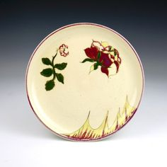 Rozenburg A small pottery plate Den Haag, Netherlands 1889 Signed (see picture) Diameter: cm. Pottery Plates, Holland, Art Decor, Art Nouveau, Tableware, Instagram, The Hague, The Nederlands, Dinnerware
