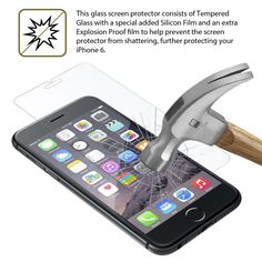 Our iPhone 6 screen protectors are durable! Now selling on Amazon: http://www.amazon.com/Protector-Xuralux-Premium-Tempered-Shatter/dp/B00RM4BMT0