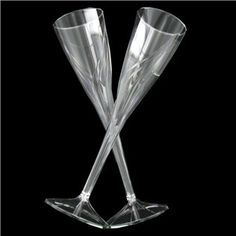 clear fluted plastic champagne glasses shop hobby lobby