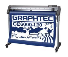 Mesin Cutting Sticker Terbaik Graphtec CE6000-120 PLUS.