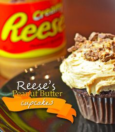 This Reese Peanut Butter Cupcakes Recipe is AMAZING. Simple & easy Reese cupcake will delight  to your home! Indulge a little