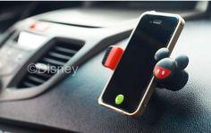 NEW DMK191 Disney Mickey Rotatable Telescopic Car Dashboard Phone Holder