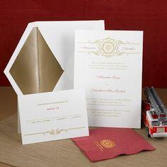 firefighter wedding invitations | Wedding Ideas