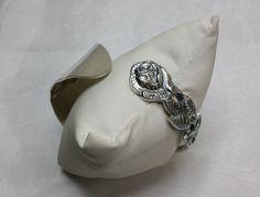 Nostalgischer Armreif Silberbesteck  100er AB249 von Atelier Regina auf DaWanda.com