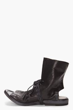 MARSELL Lego Leather Boots    http://www.ssense.com/men/product/marsell/lego_leather_boots/47939#