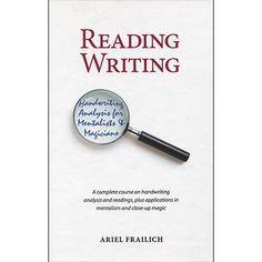 Reading Writing by Ariel Frailich - book