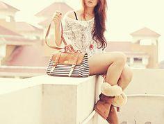 #waow #kombin #sweet #moda