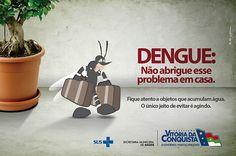 campanha contra dengue 2012 - Pesquisa Google Dengue, Home Appliances, Campaign, House Appliances, Appliances
