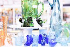Emilee Anne // Pastel Glassware // Depression Glass