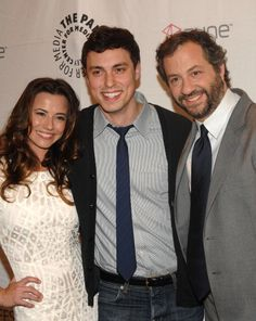 Freaks and Geeks (Lindsey, Sam, and creator Judd Apatow) all grown up!