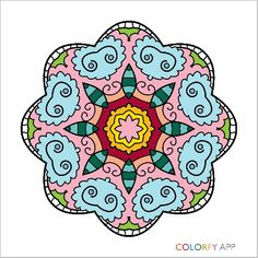Mandala Colorfy