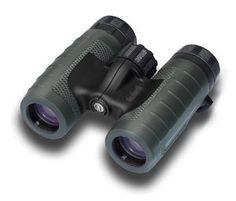 Bushnell Green Roof Trophy Binoculars, 10x28 by Bushnell. $70.63. Fully multicoated optics deliver ultra-bright, razor-sharp images. Compact hunting binoculars with 10x magnification and 28mm objective lens. O-ring-sealed and nitrogen-purged for waterproof/fogproof durability. Dura-Grip rubber-armored housing with soft-touch thumb grips. Fast focus system; flip covers for objective lenses; weighs 12 ounces. Amazon.com                Offering world-class optics ...