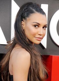 Memorial Day Hairspiration: Naya Rivera's Braided 'Do http://www.twistmagazine.com/2013/05/naya-rivera-hair-french-braids.html