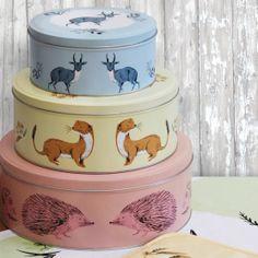 £26.00 Fauna - Set of 3 Cake Tins
