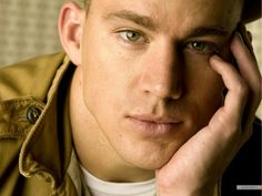 Channing-Tatum - channing-tatum wallpaper. Ok... He can stare at me like that if he wants! ;o) I don't mind...