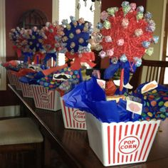 circus themed centerpiece ideas and pictures | Centerpieces for circus theme homecoming ... | Birthday and Party Ide ...
