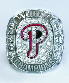It's a beautiful thing.  I got to wear it once... very heavy! #Phillies