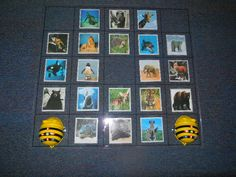 Animal Facts Game (12 files) Read the animal fact card and program the Bee Bot to go to the correct animal.