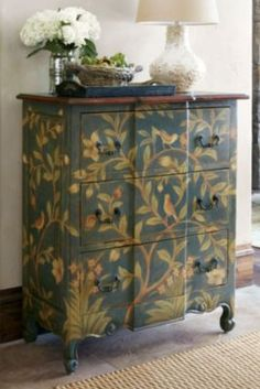 Francois Three-drawer Chest - 3 Drawer Chest, Distressed Wood Chest, Mahogany Dresser | Soft Surroundings