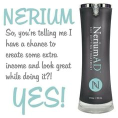 Become a Brand Partner with Nerium International! Nerium Age-Defying Breakthrough! See why CBS rated this product as incredible! http://SarahGrant.nerium.com