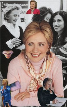 Hillary Clinton--SoulCollage by Heather