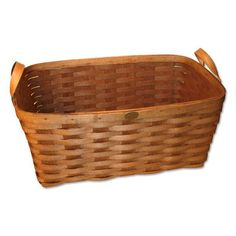 Peterboro Basket Company Rectangle Laundry Basket