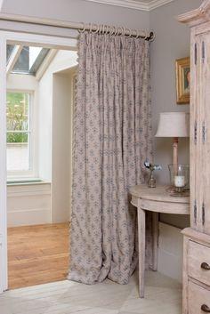 If Ever Replace Door With Fabric In Open Plan Doorways