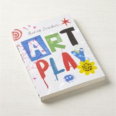 Art Play Activity Book + Reviews | Crate and Barrel
